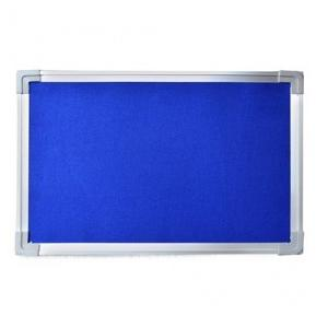 Stallion Blue Pin Up Soft Notice Board, Size: 4 ft X 3 ft