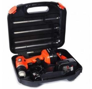 Black & Decker EPC12K2 Cordless Drill, 12 V, 750 rpm