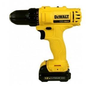 Dewalt  DCD700C2 Cordless Screwdriver/Drill, 20 V, 400-1500 rpm