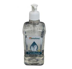 Himalaya Pure Hands Sanitizer Liquid (Lemon), 500 ml
