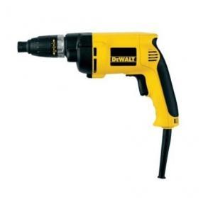 Dewalt DW263K Screwdriver, 6.3 mm, 540 W