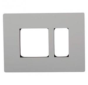 Schneider 3M Gang GI Metal Box With plate, Thickness: 1mm