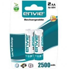 Envie AAA Rechargeable Battery 1.5V Pack of 2