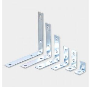 Ebco 40x40 mm Right Angle Bracket, RAB 4 SS