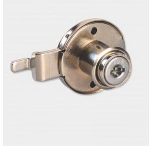 Ebco Nickel Plated Multi Purpose Lock Round Straight, E-MPL1-22