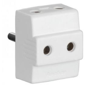 Anchor 6A 2 Pin Deluxe Plug, 3144