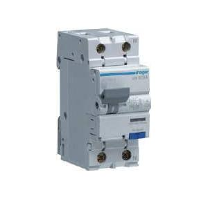 Hager 6A 30 mA RCBO, AD956Y