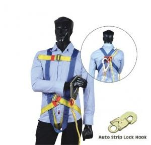 Arcon Full Body With Auto Strip Lock Hook Double Rope Harness, ARC-5111