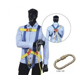 Arcon Full Body With Karabiner Hook Single Rope Harness, ARC-5104