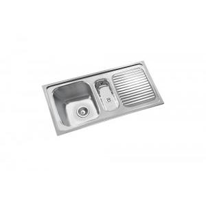 Parryware 40x20x8 In Single Bowl Kitchen Sink, C853099