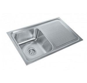 Parryware  37x18x9 In Single Bowl Kitchen Sink, C855781