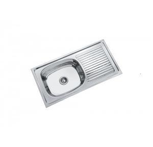 Parryware 37x18�?�¼x9 In Single Bowl Kitchen Sink, C855099