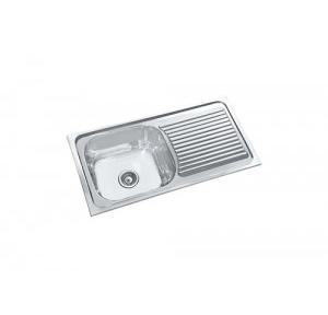 Parryware 36x18x8 InSingle Bowl Kitchen Sink, C852899