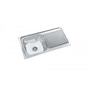 Parryware  36x18x8 In Single Bowl Kitchen Sink, C854199
