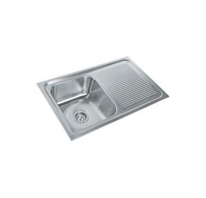 Parryware 32x20x8 In Single Bowl Kitchen Sink, C855671