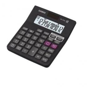 Casio 12 Digit Desktop Basic Calculator, MJ-12D