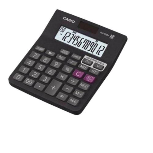 Casio 12 Digit Desktop Basic Calculator, MJ-12D
