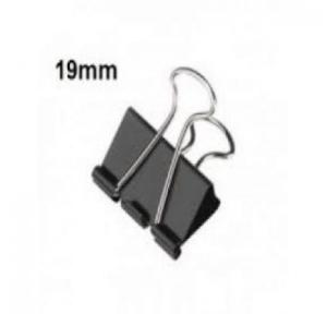 Local Binder Clip 19mm (Pack Of 12 Pcs)
