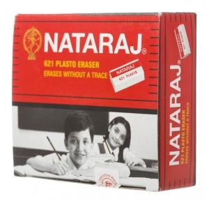 Nataraj 621 Plasto Eraser (Pack of 20 Pcs)