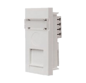 Legrand Mylinc 1M RJ45 Socket Cat 5E With Shutter, 6759 66