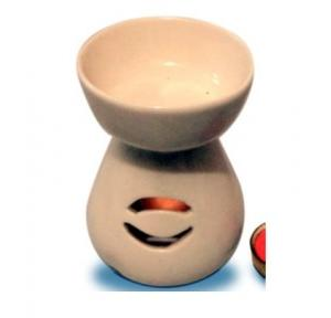 Pure Source 6 Inch Ceramic Burning Lamp From Tealight Candle, PSI-A-3 Leg