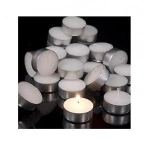 Pure Source Aluminium Tea Light 2.8 Hours Smockless Candle, PSI-CDL
