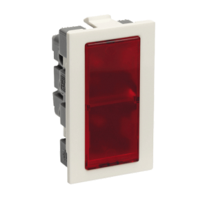 Legrand Britzy 1M Red Flat Indicator, 6734 75