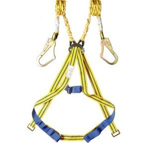 Volman Full Body Harness, 1.8 Mtr Double Lanyard