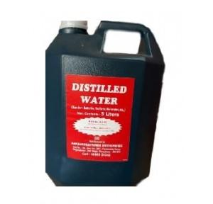 Exide Battery Distilled Water, 5 Ltr