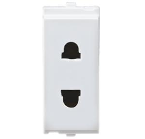 L&T 2 Pin 1M ORIS Euro Socket, OC11W06
