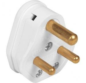 L&T 6A 3 Pin ORIS Plug Top, OP01W06