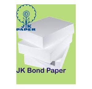JK A4 Bond Paper, 80 GSM (Pack of 500 Sheets)