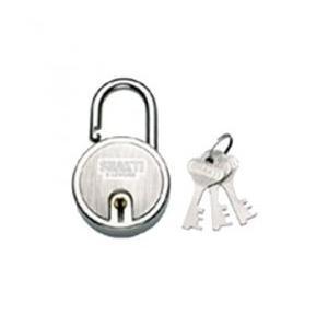 Godrej 3 Keys 5 Lever Round Padlock, 8147