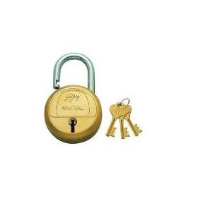 Godrej 3 Keys 7 Lever Blister Hardened Navtal Padlock, 3062
