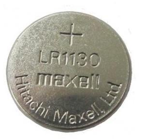 Maxell LR1130 Battery, 1.5V Micro Alkaline Button Coin Cell