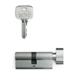 Godrej 70mm  Pin Cylinder 1CK Satin, 8450