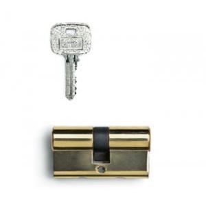 Godrej 60mm  Pin Cylinder 1CK Brass, 7743