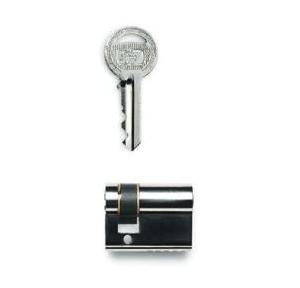 Godrej 40mm 1K Half Europrofile Mortise Pin Cylinder, 7599
