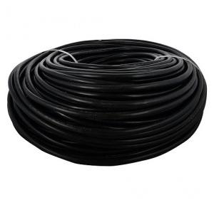 Polycab 2.5 Sqmm 2 Core PVC Insulated Copper Cable (Black), 100 Mtr