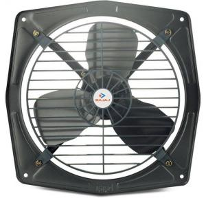 Bajaj Metallic Grey Exhaust Fan Outer dimension:12x12 Inch, SL.NO. A 025 11