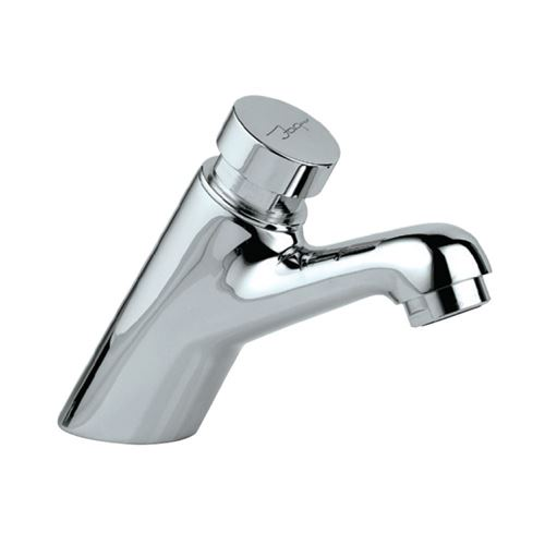 Jaquar Pillar Cock Auto Closing System Pressmatic Faucet With Connection Pipe, PRS-CHR-031