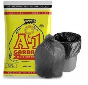 A-one 19x21 Inch Garbage Small Cover Bag (Pack of 15 Pcs)