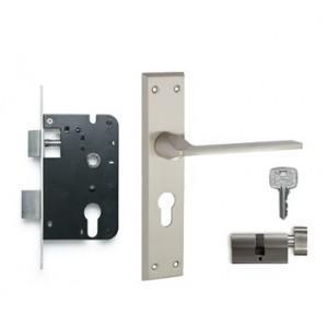 Godrej 200mm Door Handle Set With Lock Body 1CK, 7561