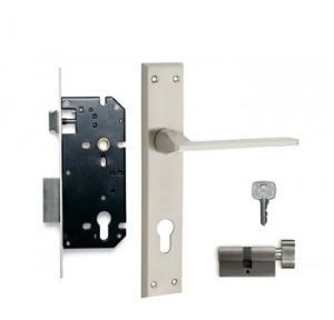 Godrej 240mm Door Handle Set With Lock Body 1CK, 7559