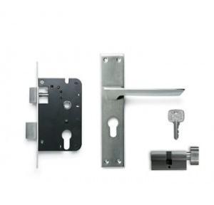 Godrej 197mm Door Handle Set With Lock Body 1CK, 8308