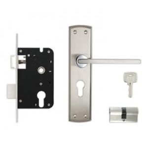 Godrej 200mm Door Handle Set With Lock Body 2C, 8419