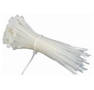Cable Tie White, 100 mm (100 Pcs)