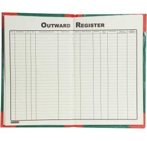 Outwards Register 200 Pages