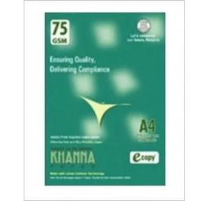 Khanna A4 Copier Paper 75 Gsm