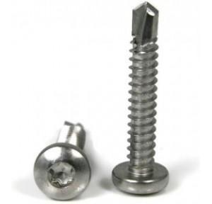 SS Self Tapping Star Drive Screw, 25x6 mm (Pack of 1000 Pcs)